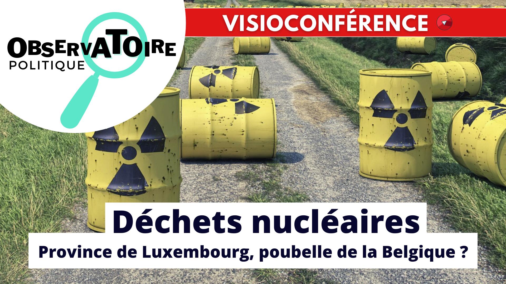 Observatoire politque dechets nucleaires 1