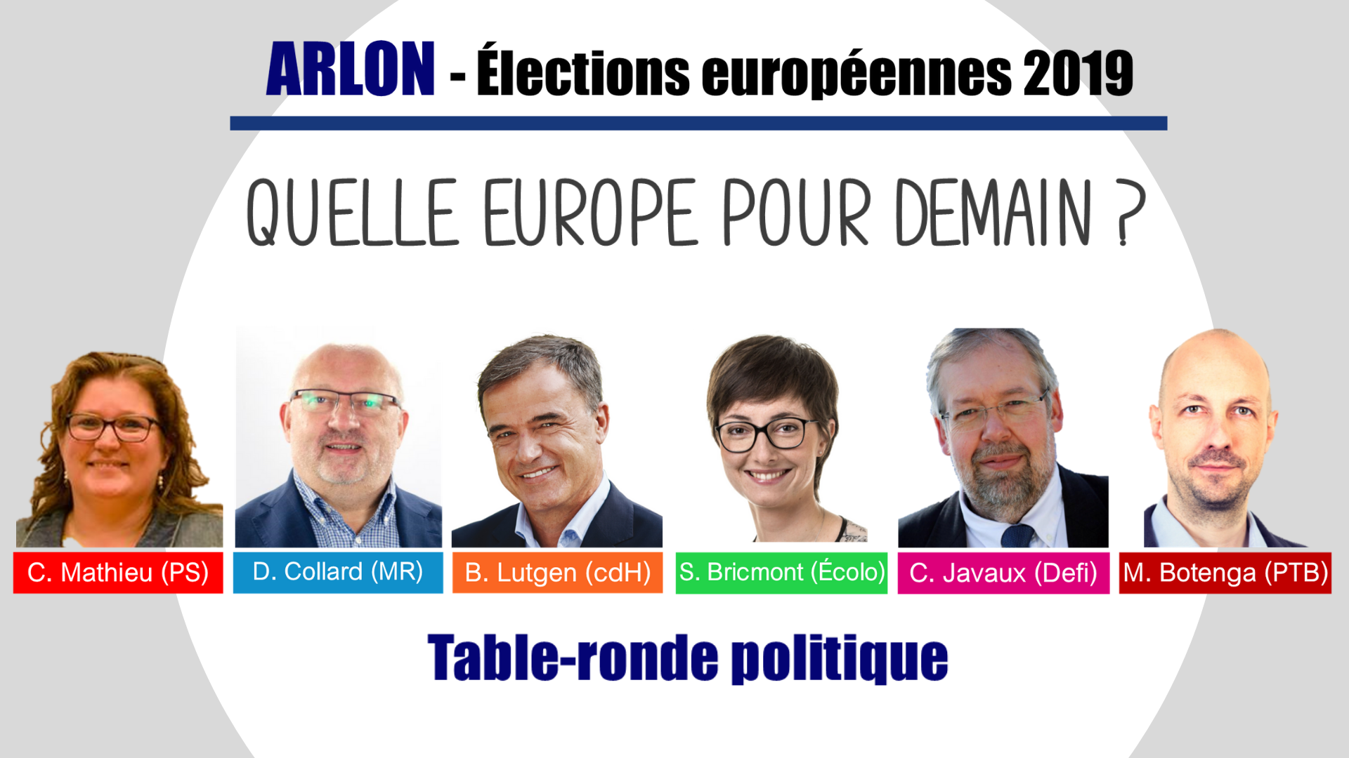 Table ronde europeenne arlon