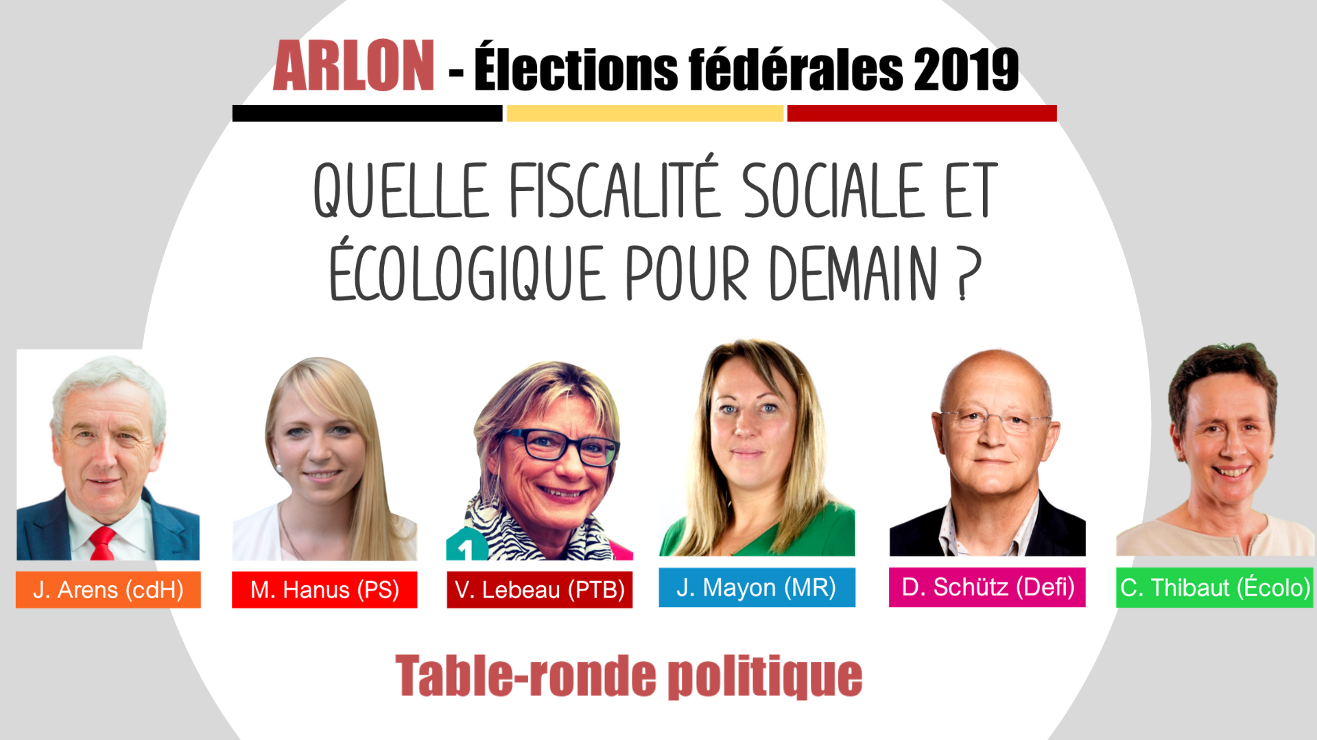 Table ronde federale arlon