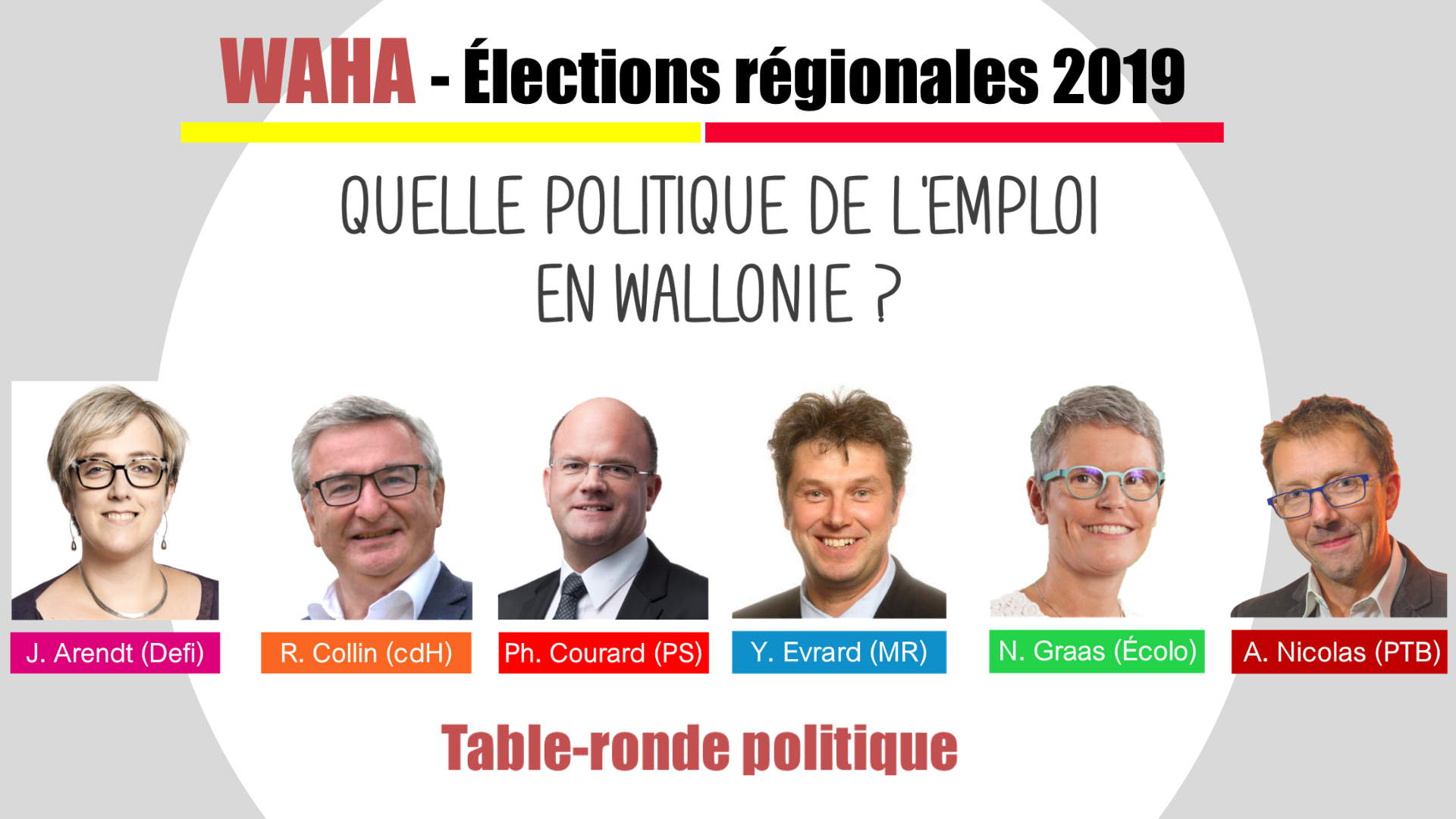 Table ronde politique waha