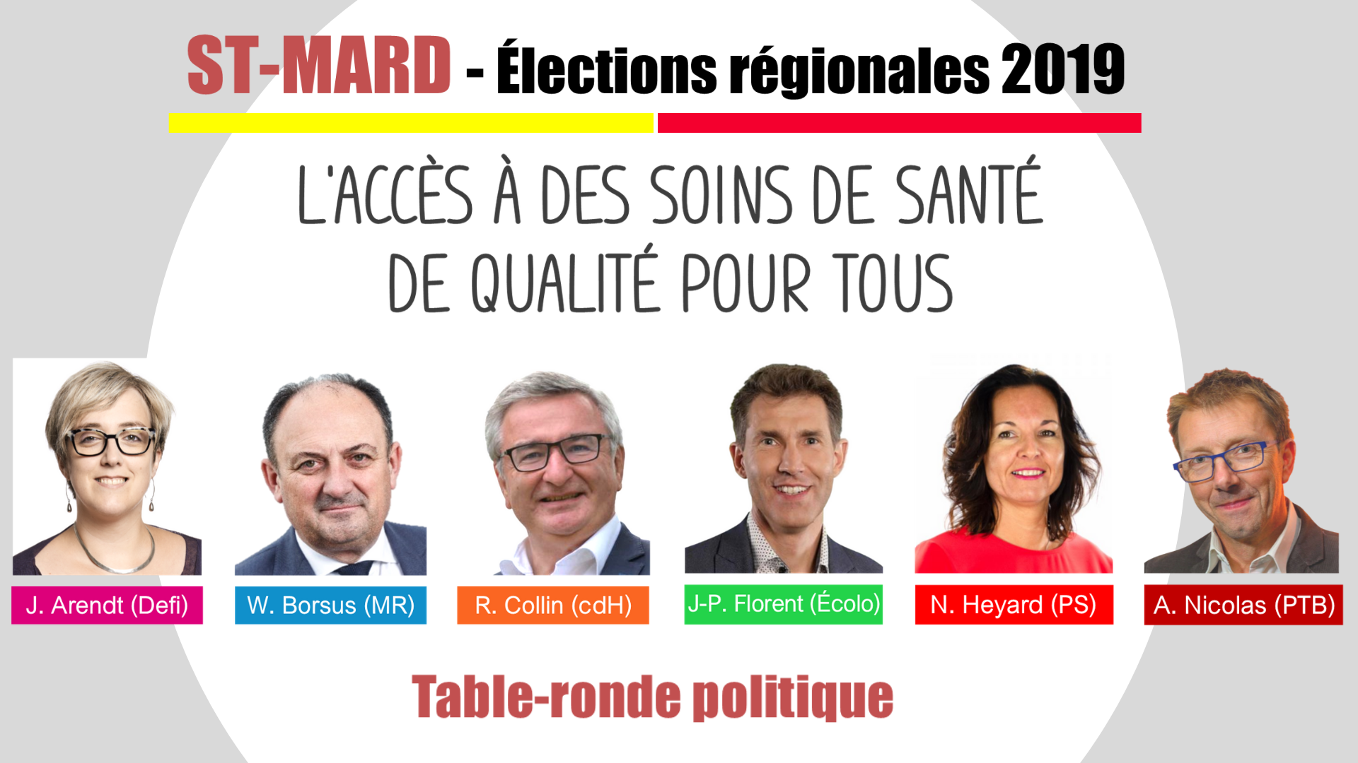 Table ronde regionale st mard 2